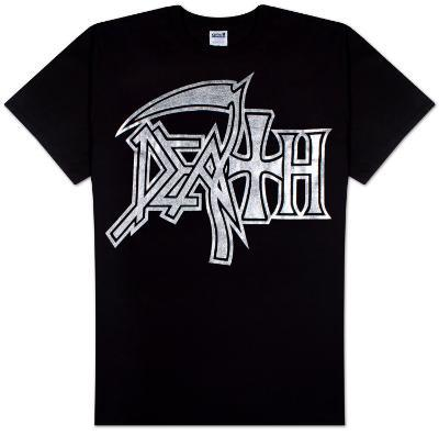 Death - Silver Logo