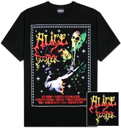 Alice Cooper - Horror Poster