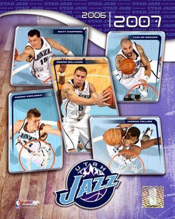 2006 - 2007 Jazz Team