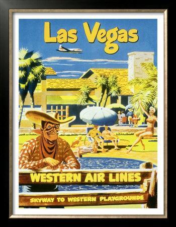 Las Vegas, Western Airlines