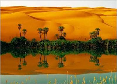 Lake Om-el-ma, Lybia