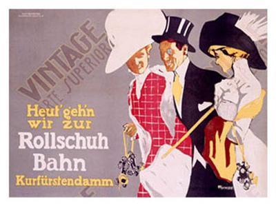 Rollschuh Bahn