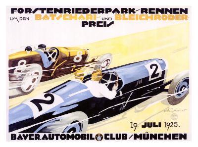 Bayer Auto Club Roadster, c.1924
