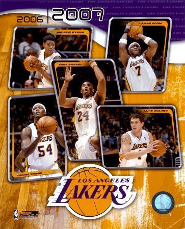 2006 - 2007 Lakers Team