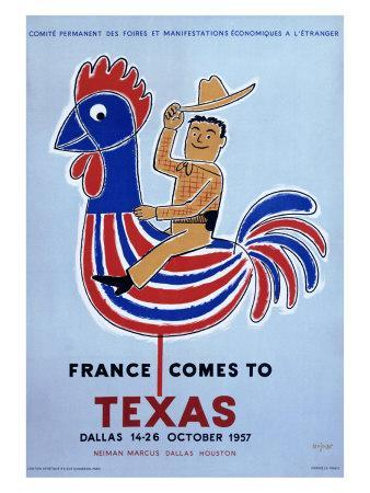 France comes to Texas, 1957