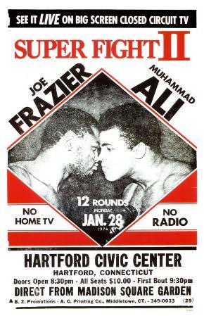 Joe Frazier vs Muhammad Ali- Super Fight II