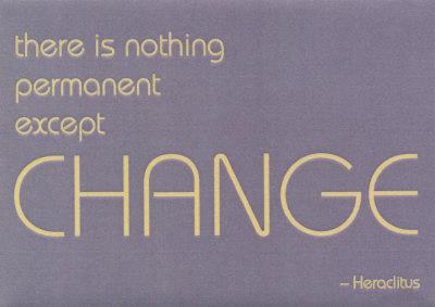 Change - Heraclitus