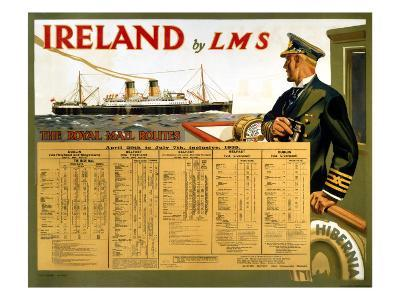 Ireland by LMS, the Royal Mail