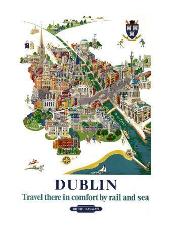 Dublin, BR Poster, 1954