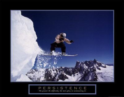 Persistence: Snowboarder