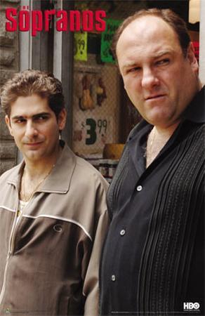 The Sopranos- Tony And Christopher
