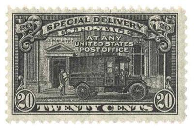 Special Delivery Stamp
