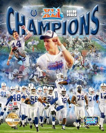 Indianaplois Colts Super Bowl XLI