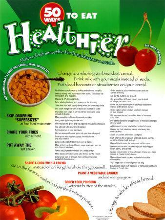 50 Ways To Eat Healthier