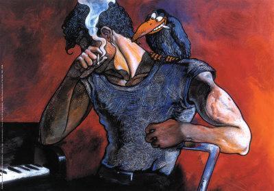 Ritratto di Tom Waits, 1986