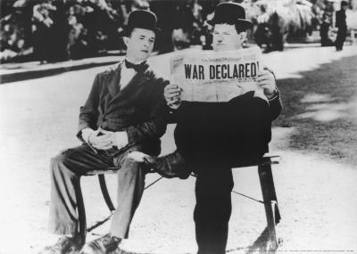 Laurel and Hardy in Il Compagno B