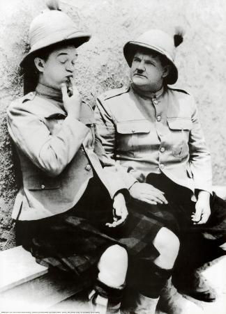 Laurel and Hardy in Bonnie Scotland