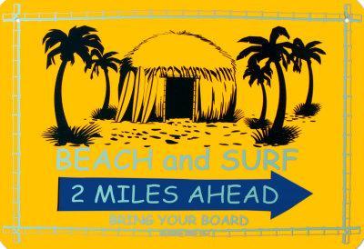 Beach And Surf 2 Miles Ahead