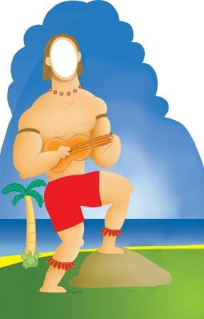 Hawaiian Man