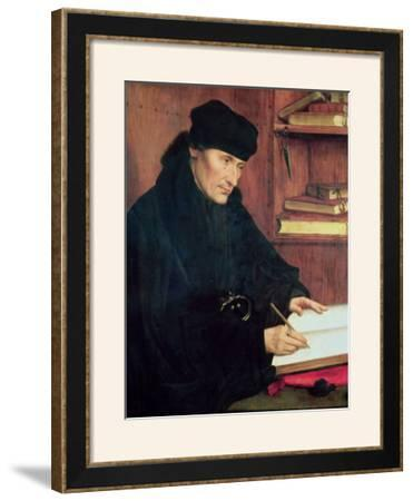Portrait of Erasmus of Rotterdam (1466-1536)