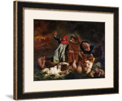 The Barque of Dante, 1822