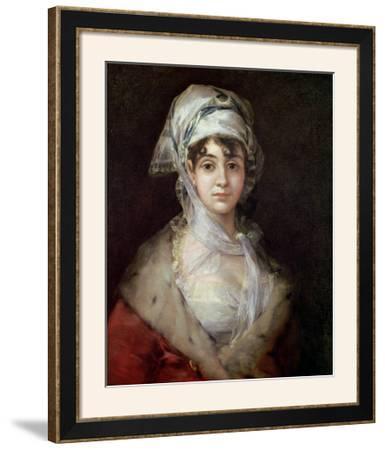 Portrait of Antonia Zarate, 1810-11