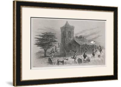 North Berwick Witches: Dr. Fian and Companions Fly Round a Church as They Confess to King James Vi