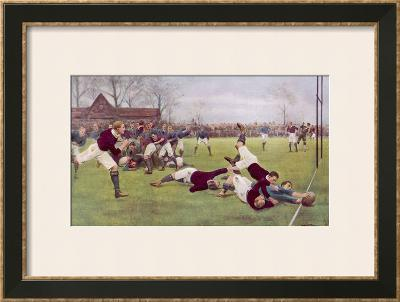 Rugby Try Scored 1897