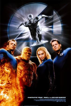 Fantastic Four- Rise Of The Silver Surfer
