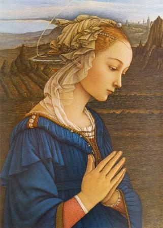 Madonna delle Roccie, Particolare