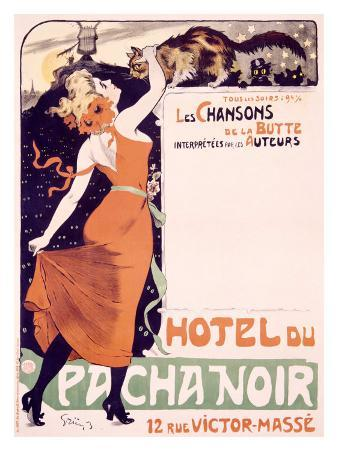 Hotel du Pacha Noir