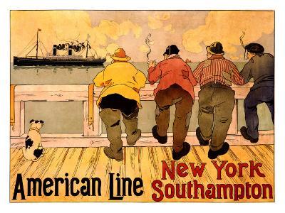 American Line, New York to Southampton