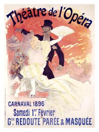 Theatre de l'Opera, Carnaval, 1896