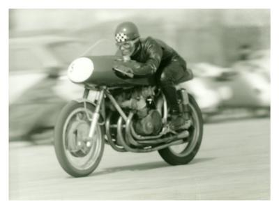 Gilera Four Motorcycle Race