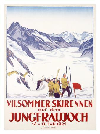 Switzerland, VII Summer Glacier Ski