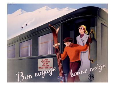 French Alps Railway, Ski