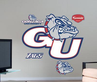 Gonzaga Logo -Fathead