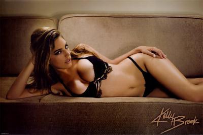 Kelly Brook- On The Sofa