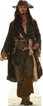 Captain Jack Sparrow Lifesize Standup