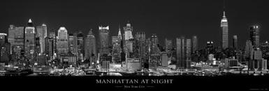 The Silver City, New York Sky