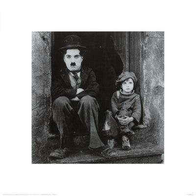 Charlie Chaplin in The Kid