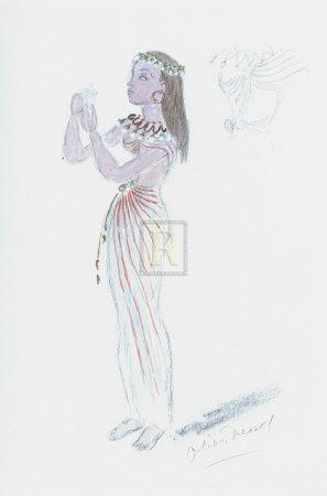 Designs for Cleopatra XXIV