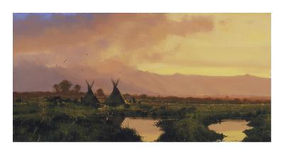 Blackfeet Sunset