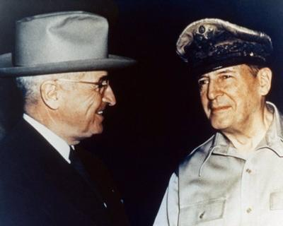 Harry Truman and General Douglas MacArthur