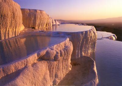 Basins and Terrace, Turkey