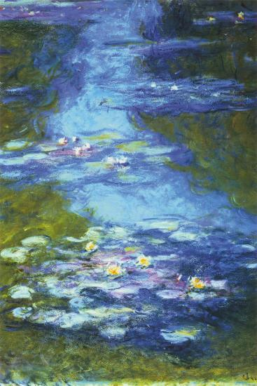 Monet Water Lilies Monets Chefs4passion