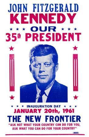 John F. Kennedy- Inauguration Day