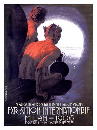 Expo Internationle Milan, 1906