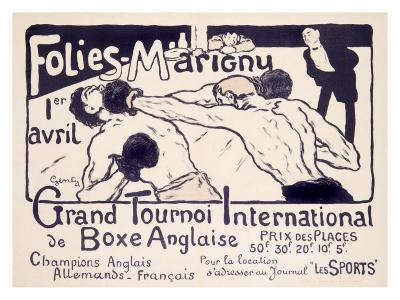 Folies-Marigny, Tournoi de Boxe