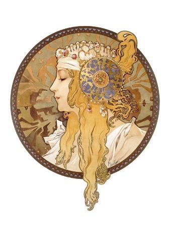 Round Portrait, 1897